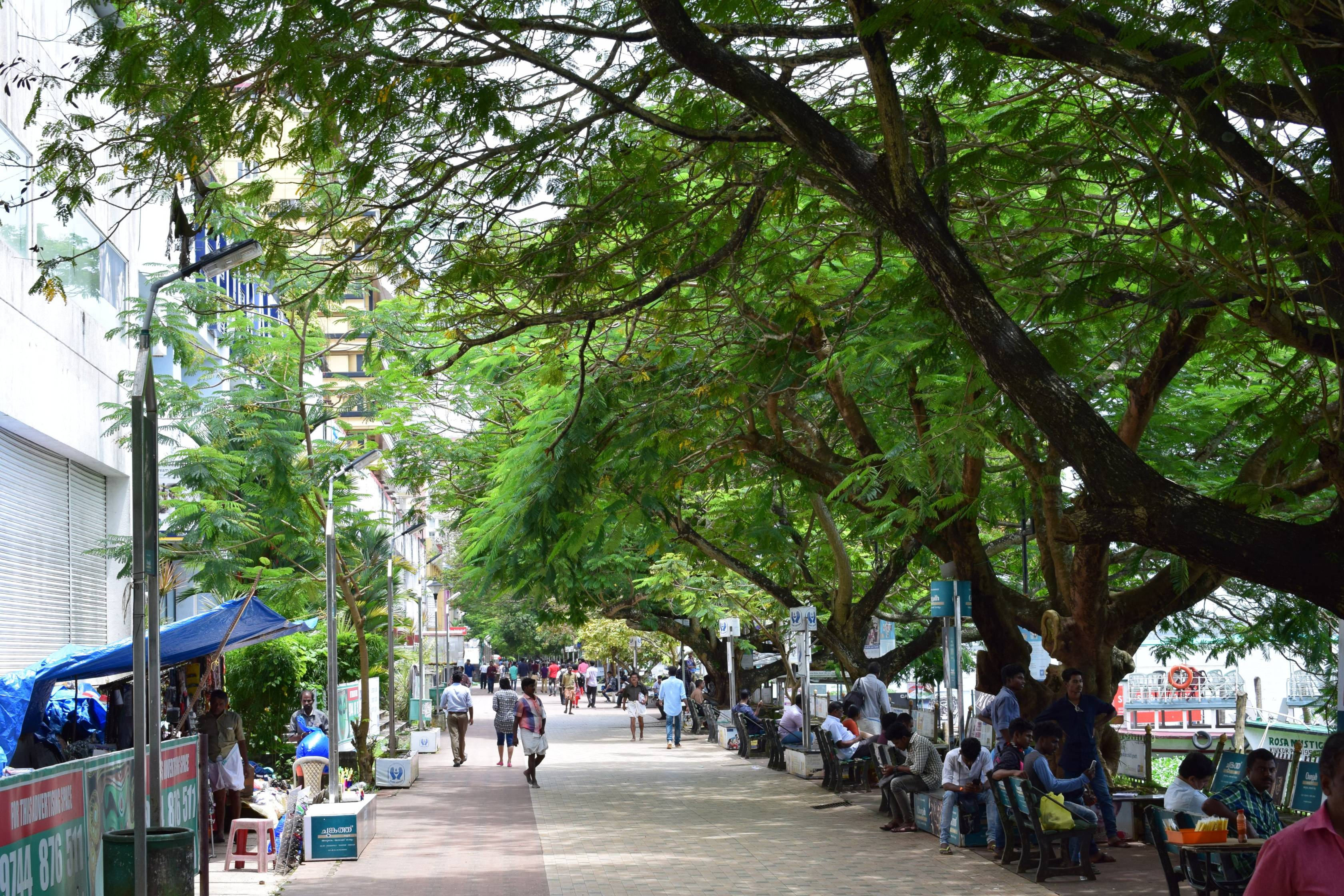 Kochi : Marine Drive