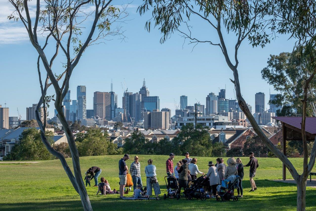 The City of Yarra has approximately 235 hectares of public open space, including small neighbourhood pocket parks and larger formal historical gardens, as well as parkland along the banks of the Yarra River and Merri Creek.